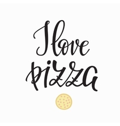 Pizzeria promotion motivation advertising vector