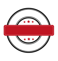Commercial seal tag icon vector