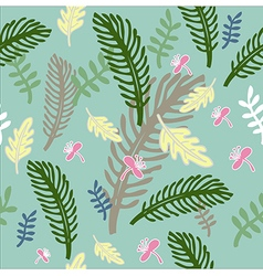 Freehand floral pattern 2 vector