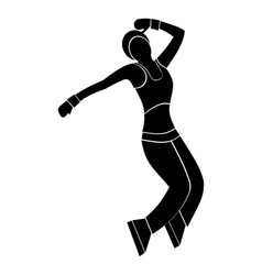 Nice dance simple symbol vector