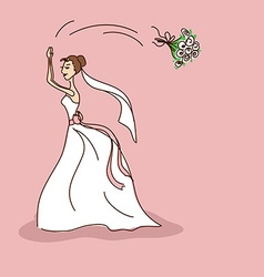 Bridal shower or wedding invitation vector