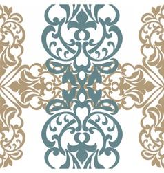 Classic decor pattern element vector image vector image
