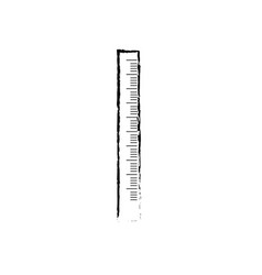 figure school ruler object design to education vector image