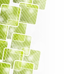 Abstract banner with squares for design corporate vector