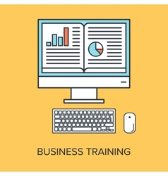 Business training vector