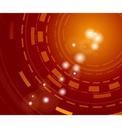 technological background with sparkles vector image