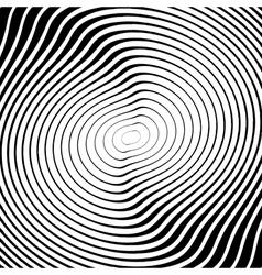 Design monochrome whirl circular motion background vector