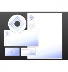 design set vector image vector image