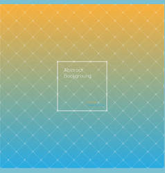 gradient orange and deep sky blue colored vector image vector image