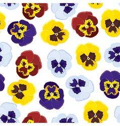 viola pattern vector image vector image