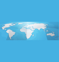 world map earth continents tourism travel concept vector image