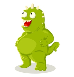 Green monster vector