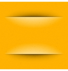 Yellow Geometric Copy Space Paper vector image