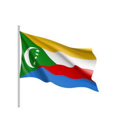 National flag of comoros vector