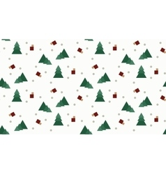Seamless wrap christmas pattern for gift vector