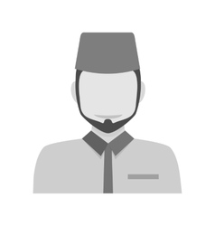 Islamic man vector