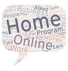 How can you earn money from home text background vector