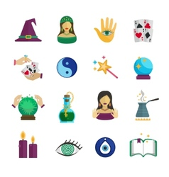 Fortune Teller Icon Flat vector image