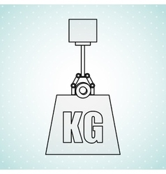 Weight measurement design vector