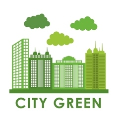 City design building icon colorful vector