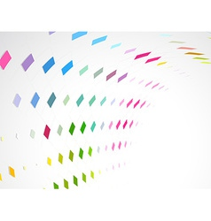 Mosaic wave background vector