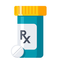 Pharmaceutical drugs icon vector