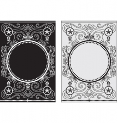 star frames vector image vector image
