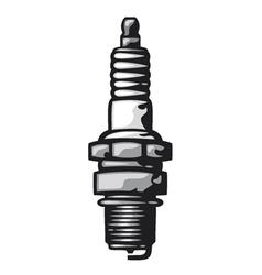 Spark Plug vector image