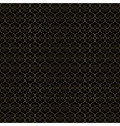 Seamless - gold oriental lattice vector