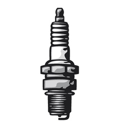 Spark Plug vector image vector image