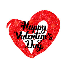 Happy valentines day inspiration poster vector