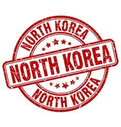 North korea stamp vector
