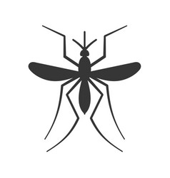 Mosquito icon on white background vector