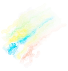 Watercolor art hand paint eps10 vector