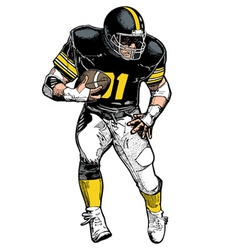 Pro FBall vector image