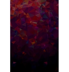 Abstract polygonal dark geometric background low vector
