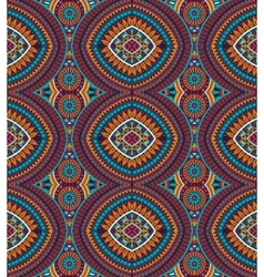 Abstract tribal ethnic background vector image vector image