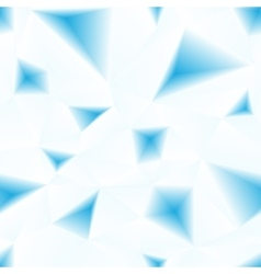 blue triangular surface abstract seamless vector image vector image