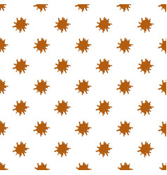 Large puddle of caramel pattern vector