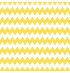 Tile chevron pattern with yellow and white zig zag vector