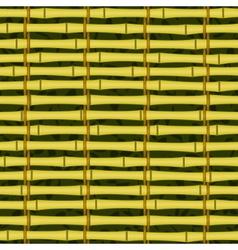 seamless bamboo jalousie vector image
