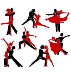 Ballroom dancing - 6 vector
