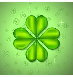 Four-leaf clover vector