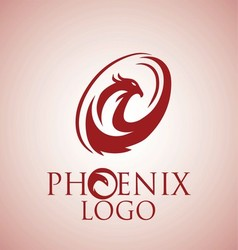 phoenix logo 9 vector image