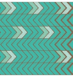 Seamless color hand-drawn triangles pattern vector image