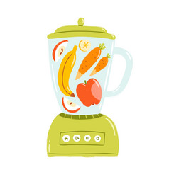 Smoothie mixer vector