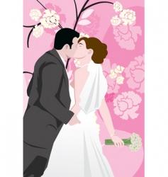 weddings vector image vector image
