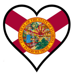 Love florida vector