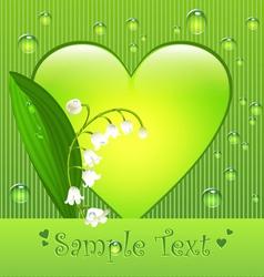 Sumer love card vector