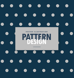 Blue polka dots background with gray circles vector